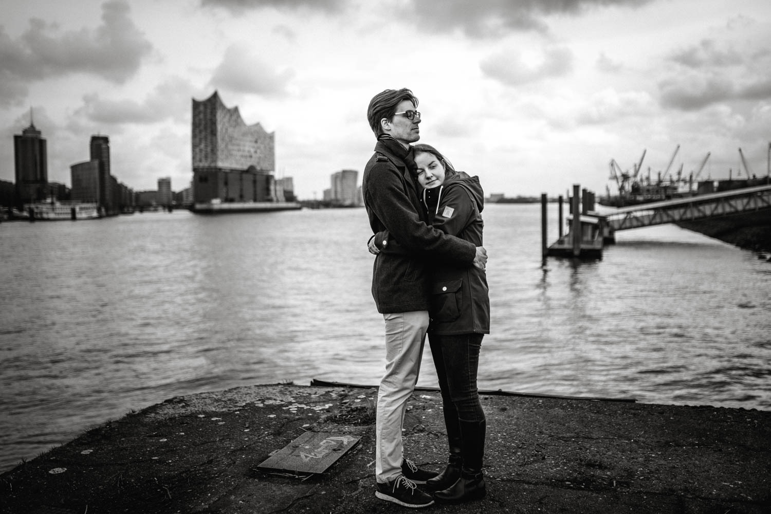 Hochzeitsfieber by Photo-Schomburg, Engagementshooting, Coupleshoot, Pärchenshoot, Hamburger Hafen,_-1