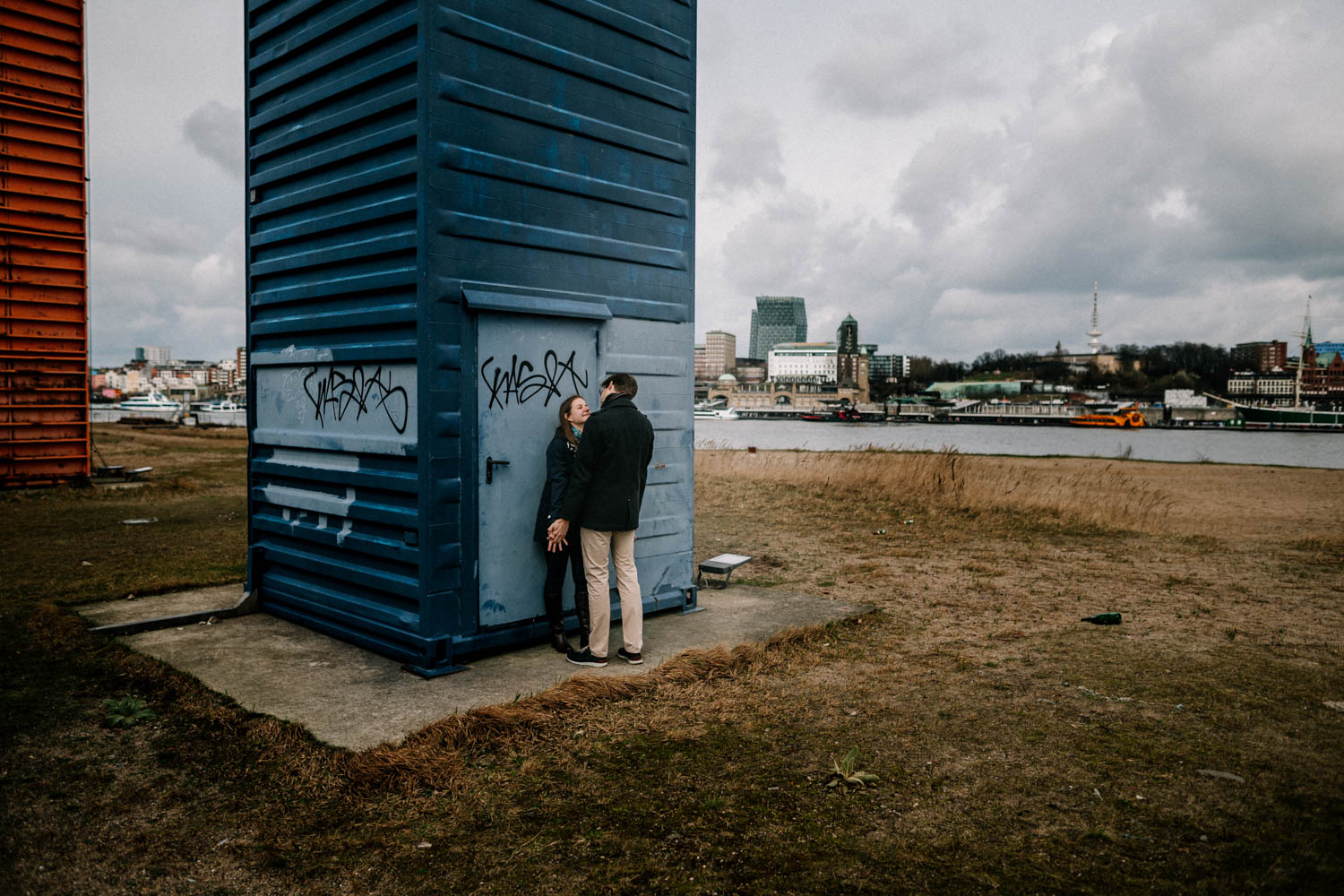 Hochzeitsfieber by Photo-Schomburg, Engagementshooting, Coupleshoot, Pärchenshoot, Hamburger Hafen,_-13