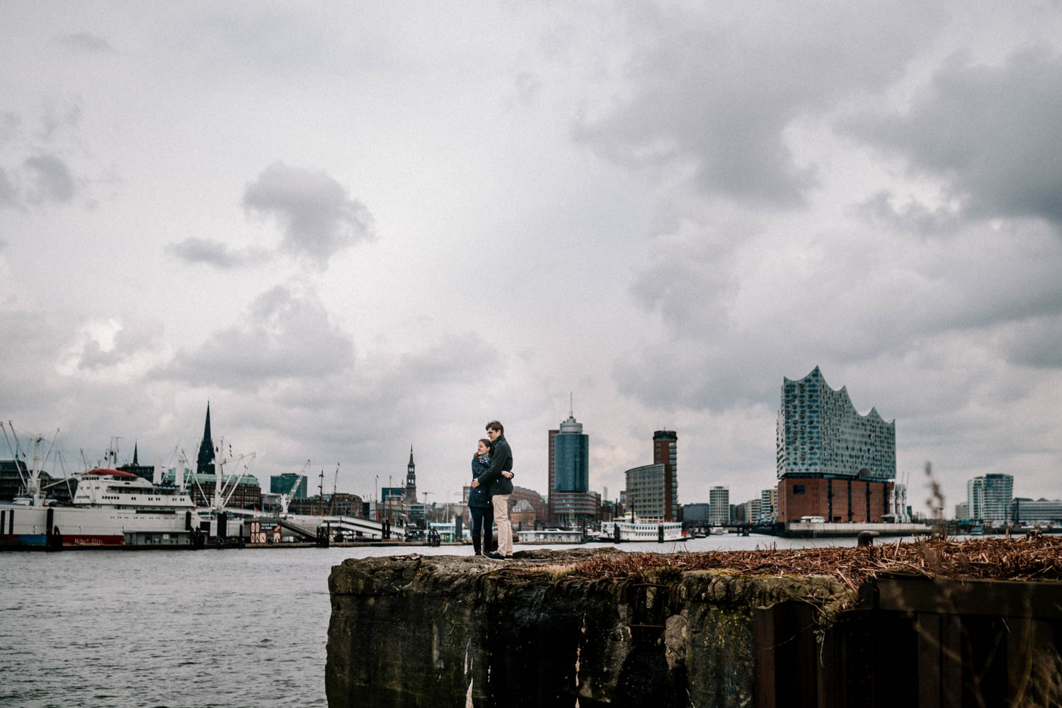 Hochzeitsfieber by Photo-Schomburg, Engagementshooting, Coupleshoot, Pärchenshoot, Hamburger Hafen,_-18