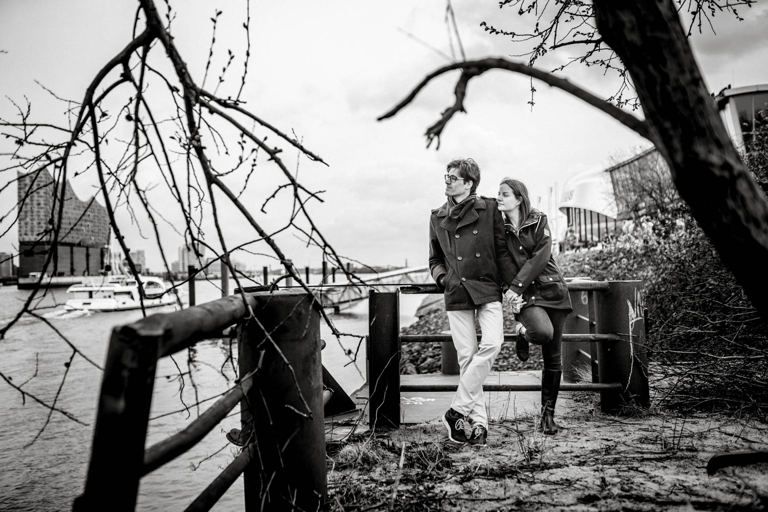 Hochzeitsfieber by Photo-Schomburg, Engagementshooting, Coupleshoot, Pärchenshoot, Hamburger Hafen,_-21