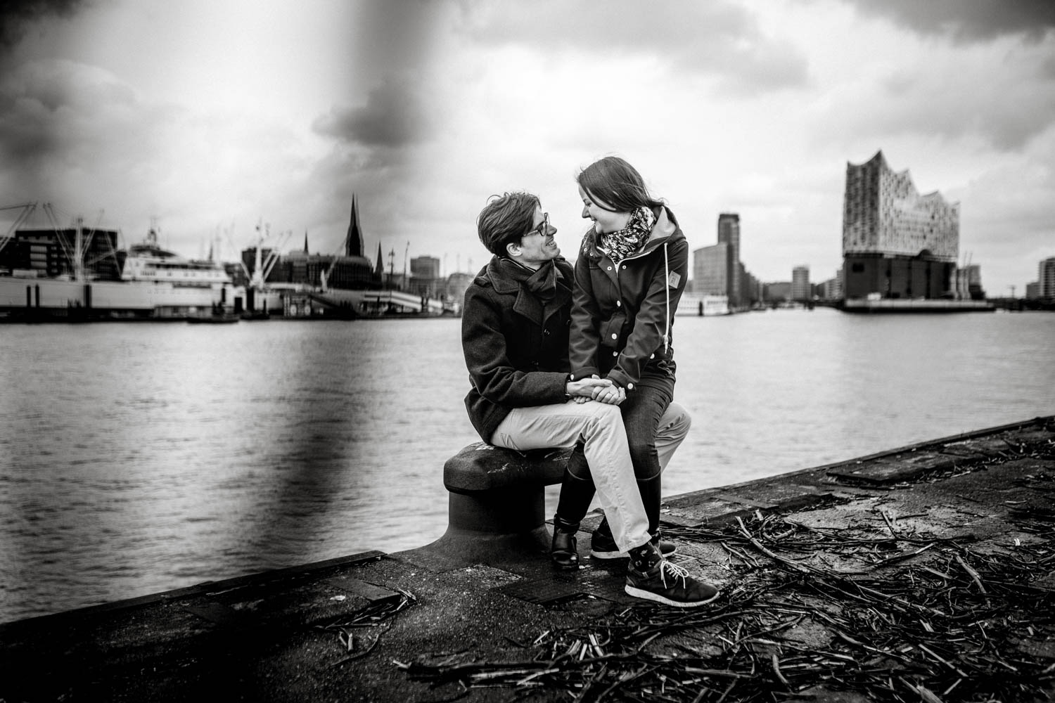 Hochzeitsfieber by Photo-Schomburg, Engagementshooting, Coupleshoot, Pärchenshoot, Hamburger Hafen,_-8